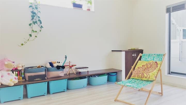 新しい家の個室:駅近&鎌倉まで20分!
