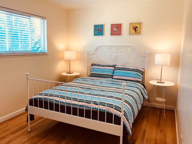 San Jose Silicon Valley #2bedroom queen size bed