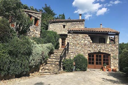 Charming Cottage in the Cévennes, 2 to 8 people - Arphy - Rumah
