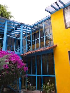 La Casa Amarilla al sur de Coyoacán - Appartement