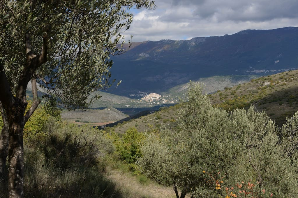 In The Middle Of A Green Paradise Houses For Rent In Capestrano Abruzzo Italy