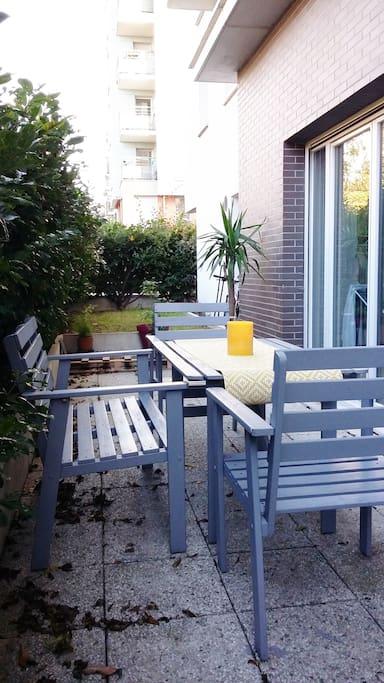 jardin terrasse / small garden