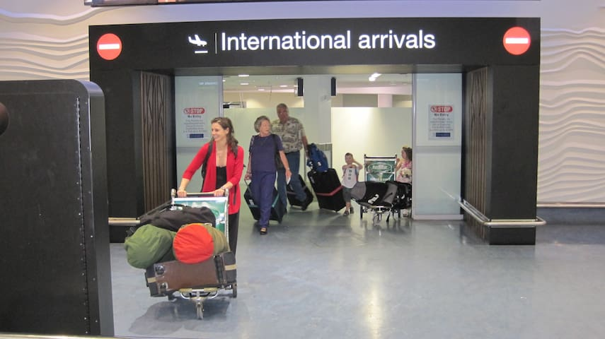Airport arrival pick + room+ transport+ others