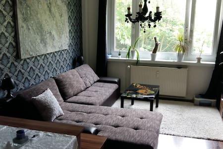 Gemütliche, modern eingerichtete Zweizimmerwohnung - Erfurt - Apartamento