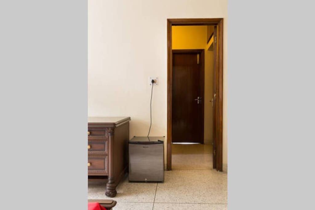 Passage connecting Bedroom 1 and 2