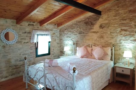 Traditional stone manor in South Chios