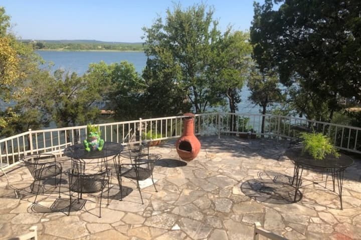 Possum Kingdom Getaway w/ Private Boat Dock