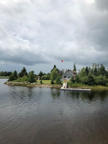 Riverside cottage in Moser River, NS