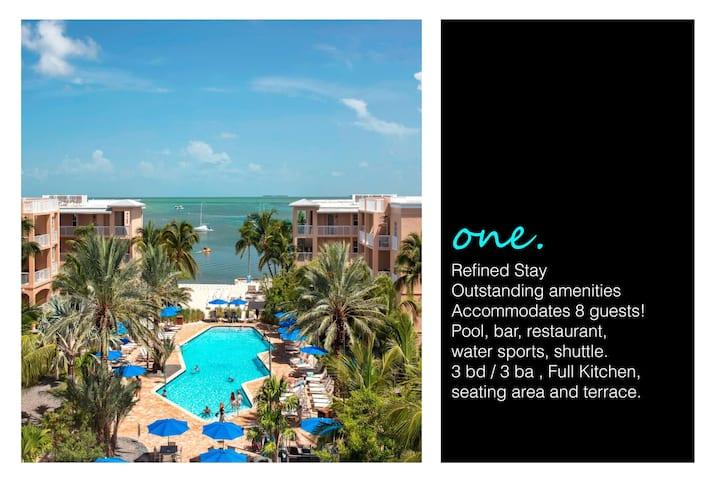 KWMBH01 - Marriott Beachside - Luxury for 8 people