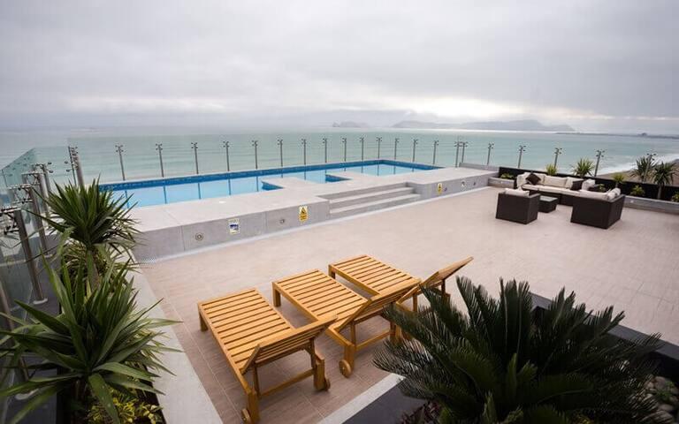 Moderno apartamento con vista al mar - San Miguel - Daire