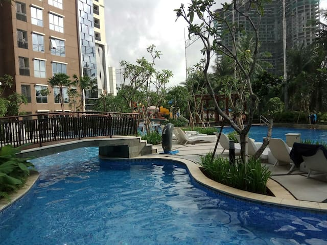 2BR 5* Facility with Sauna on Kemayoran JIEXPO
