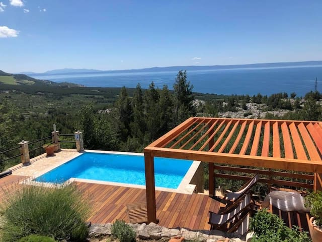 Antique House 33 - 4* - pool & panoramic sea view