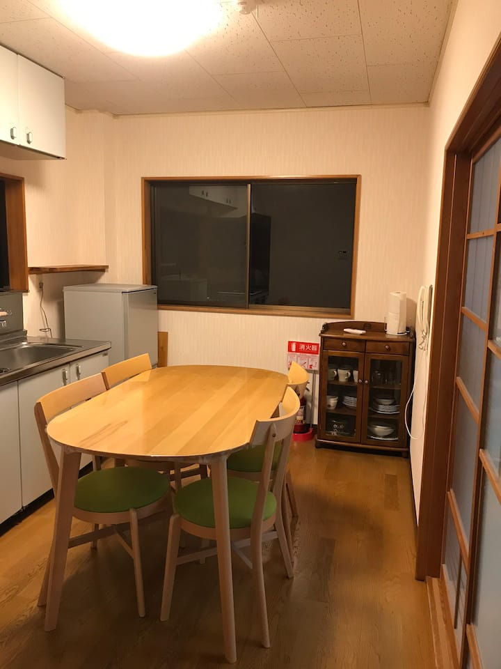 Good view house only 5min walking from JR station!