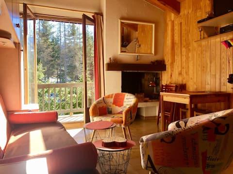 Ski apartment in Auron