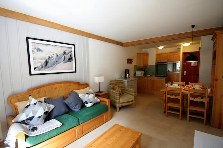 Lovely 4 person apt in Les Arc 1950