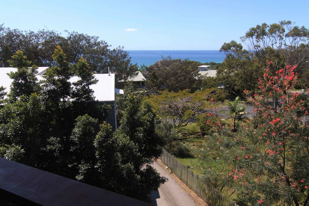 View to Coral Sea