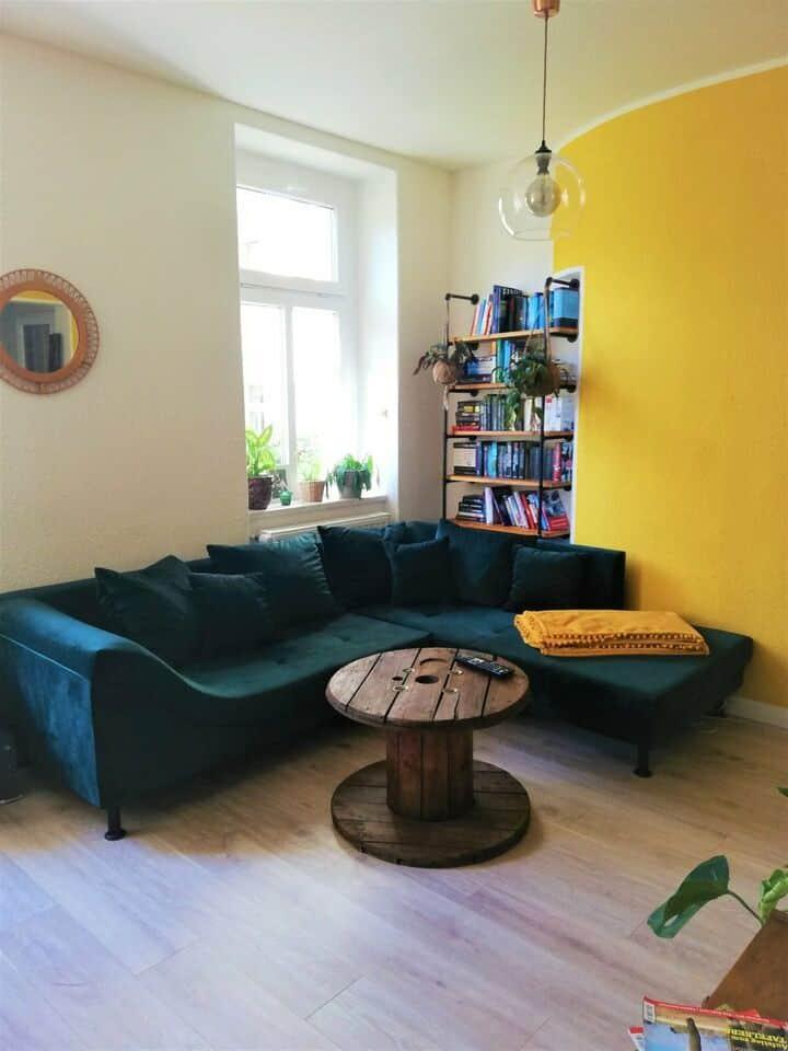 Gemütliche Wohnung im  beliebten Hechtviertel