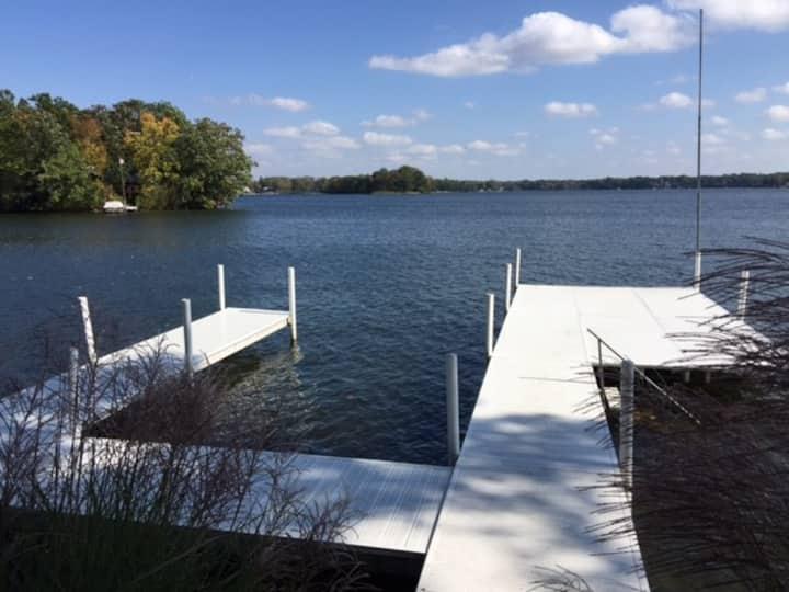 Charming Lakefront Cottage on Best Indiana Lake