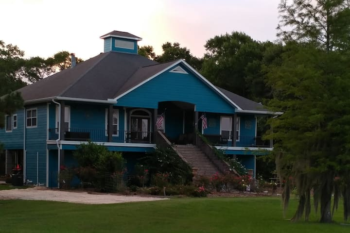 Lake Charles Home with a View