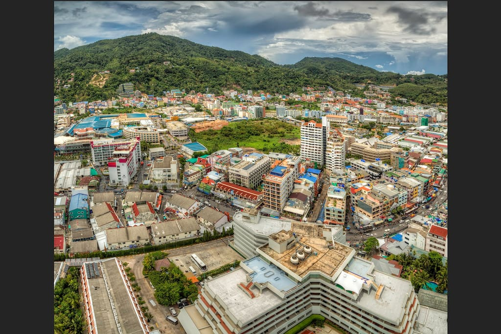 View of Patong City from Bedroom # 1