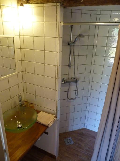 Sanitaire de votre chambre