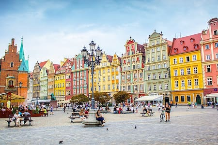Wroclaw Resting Place up to 2 People