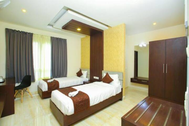 Deluxe Twin Non Ac Room