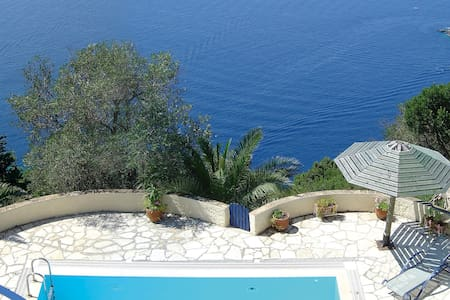 Villa Petritis -  Superb Cliff Top Villa with Pool