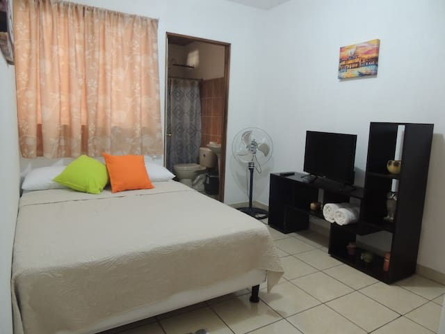 (1) Apto 5 min from SJO Airport - Safe Parking