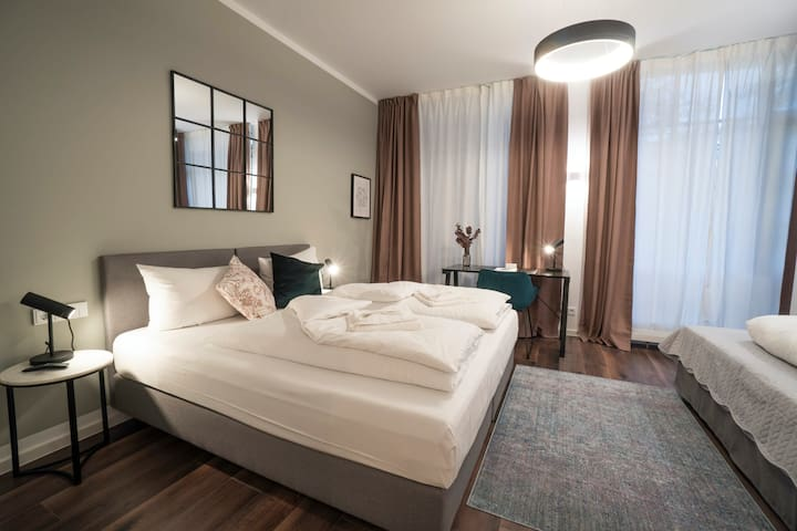 Live Near the Park and River in Beautiful Munich