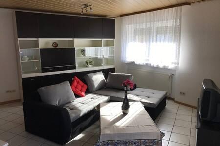 Bright & comfortable Apartment TLA, Ferienwohnung - Landstuhl - Wohnung
