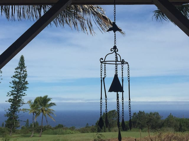 Ocean & Golf Course views Naalehu Hi -Private $65