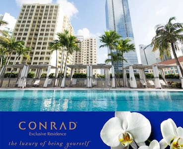 EXCLUSIVE Luxury CONRAD - FREE Parking and Coffee. - Miami - Departamento