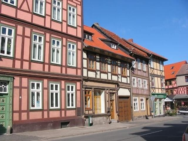 Fachwerkhaus mit Charme - Wernigerode - Huoneisto