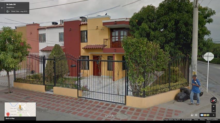 Una habitacion comfortable - Santa Marta - House