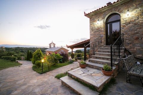 Lafkos Beautiful House 1-Breathtaking View&Energy