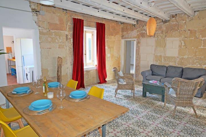 Casa típica menorquina.