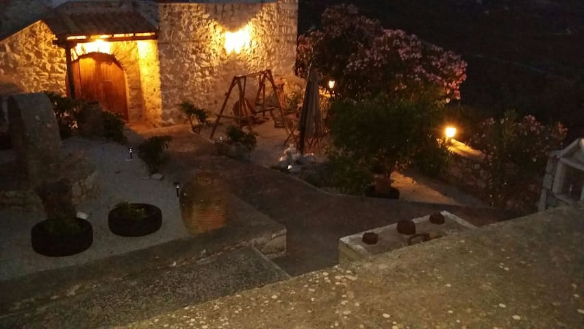 Stone House in Krioneri , Mani
