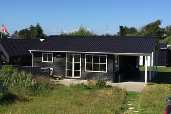 Dejligt hus tæt på Blokhus og vesterhavet