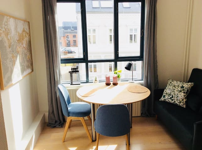 Privat Cute little 2 room apartment -Vejle Centrum
