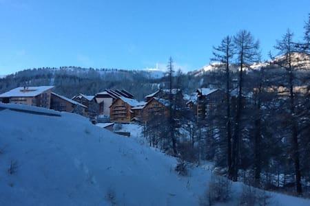 Appart Station de Ski Risoul  hiver/été