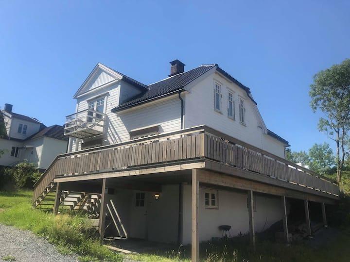 Hus sentralt i Porsgrunn