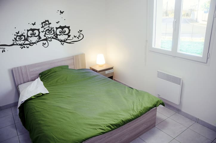 Chambre N°2 confortable Fibre Montauban