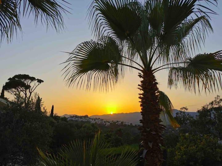 Grande villa + piscine, proche Cannes, vue sur mer