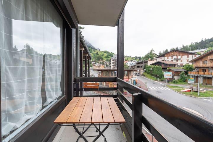 L'Arly - Appartement avec balcon vue montagne