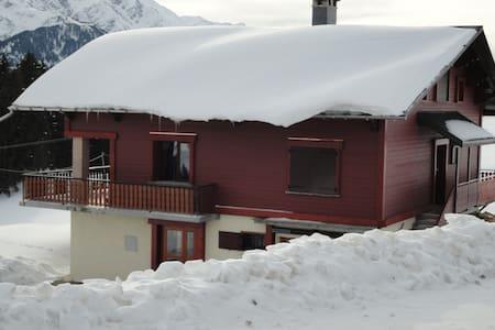 Face au Mont Blanc Magnifique chalet - Hauteluce