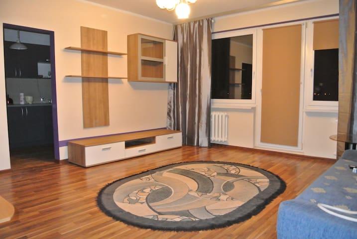 Apartament na Redzie z piękną panoramą - Szczecin - Apartament