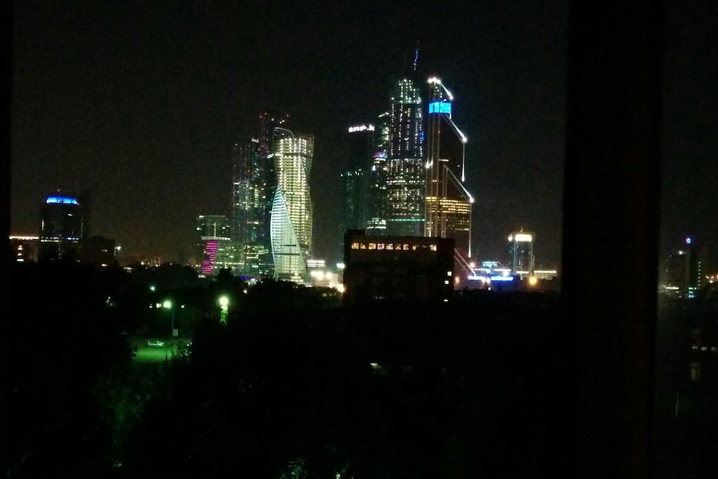 View from the bedroom / Вид из спальни