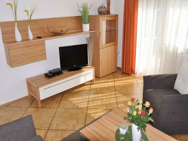 Ferienhaus Jäger, (Friedrichshafen), Ferienwohnung Bodensee, 63 qm, 2 Schlafzimmer, max. 3 Personen