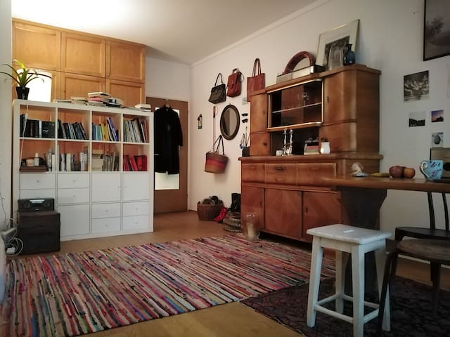 Lovely 1 room apartment, directly on the Isar